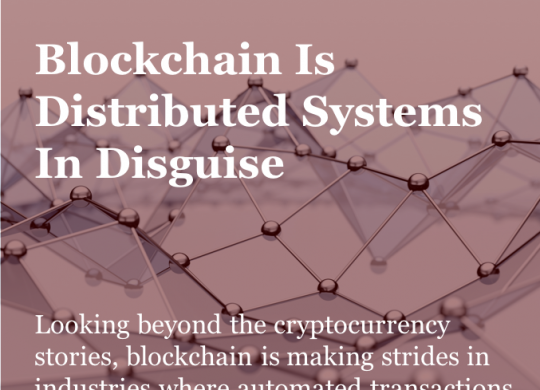 T_Blockchain Is Distributed Systems In Disguise