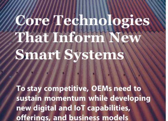 GSI_Core Technologies That Inform New Smart Systems