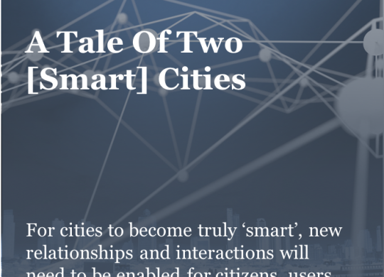 M_A Tale Of Two [Smart] Cities