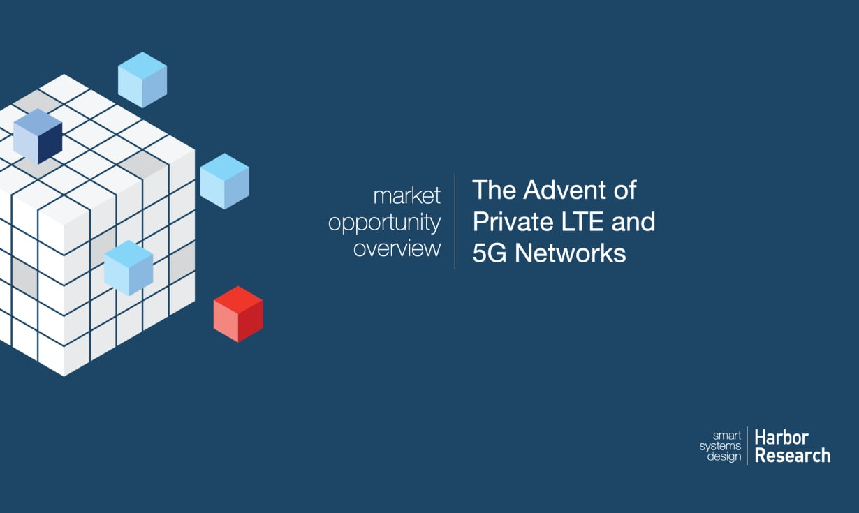 Advent of Private LTE and 5G Networks cover