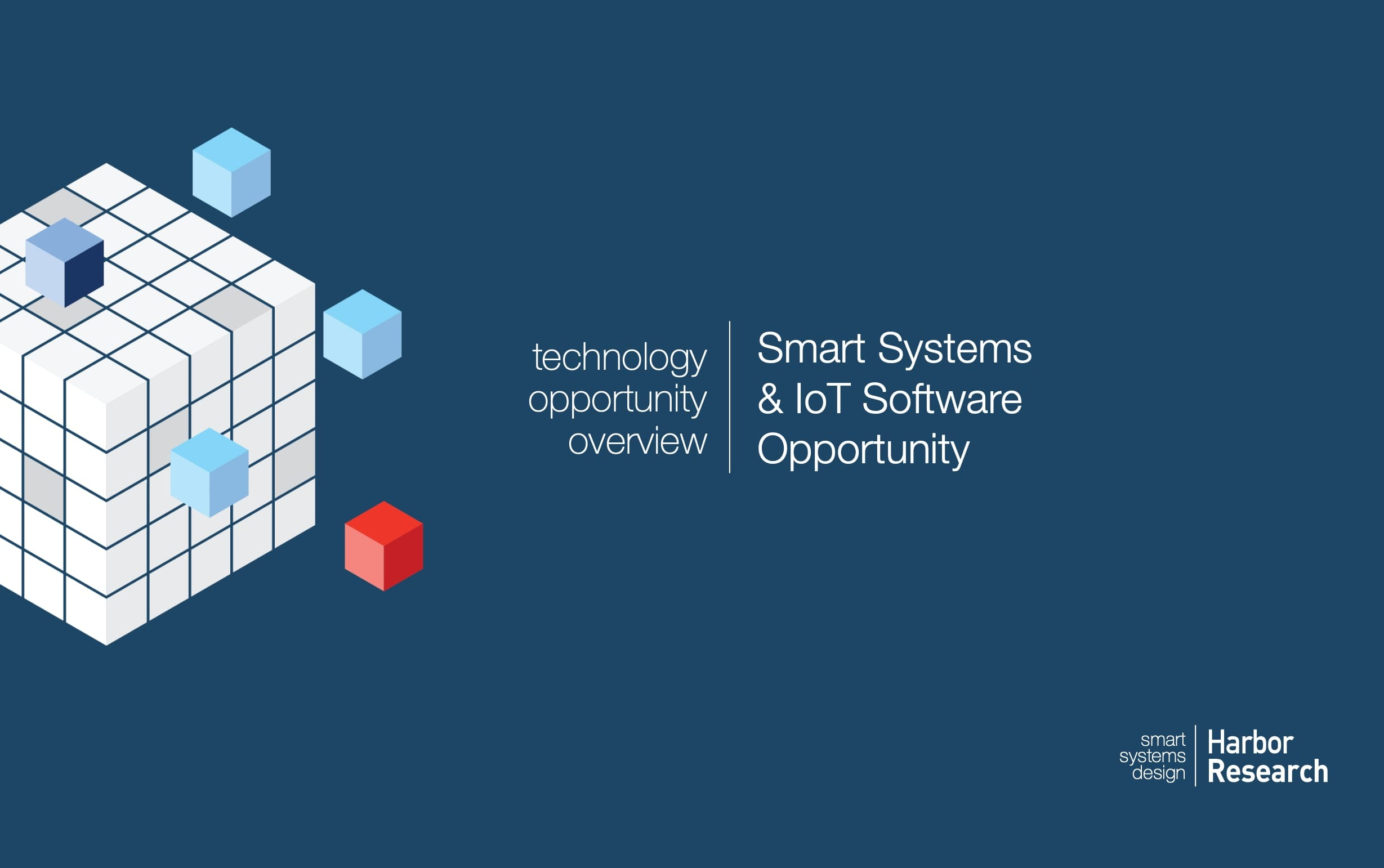 Cover of IoT Software Research brochure