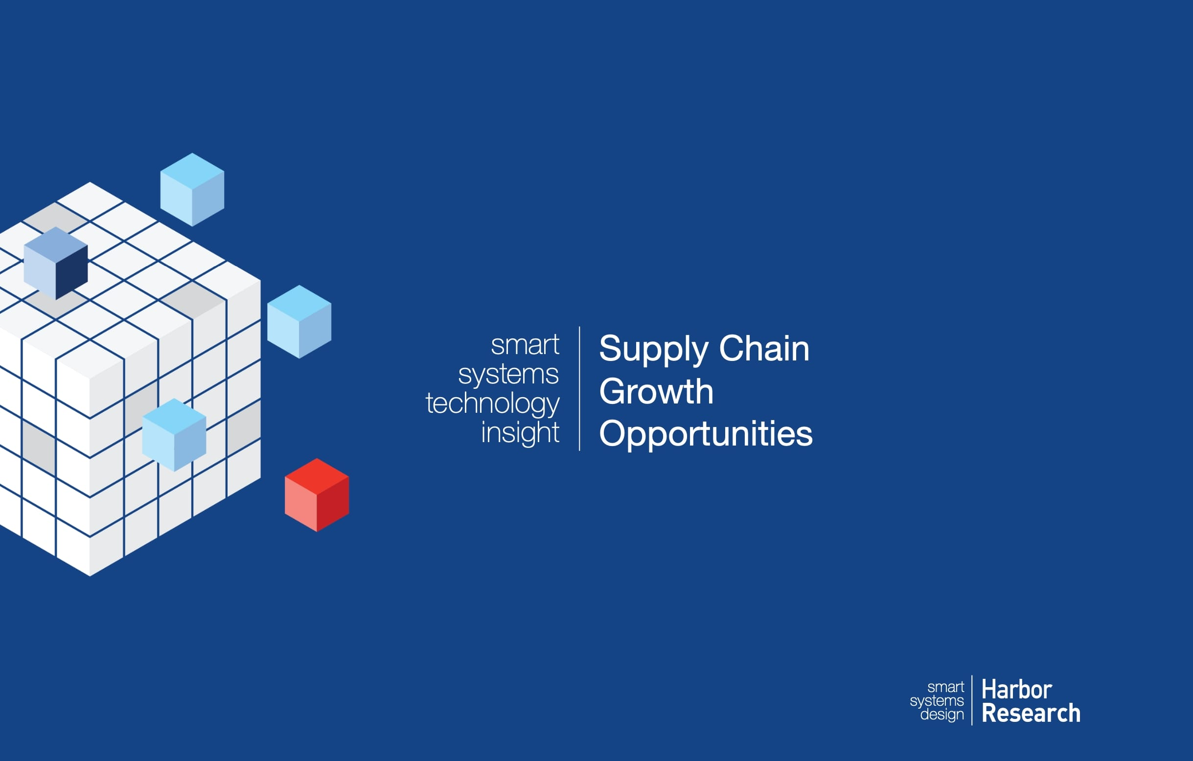 Supply Chain Growth Opportunities cover