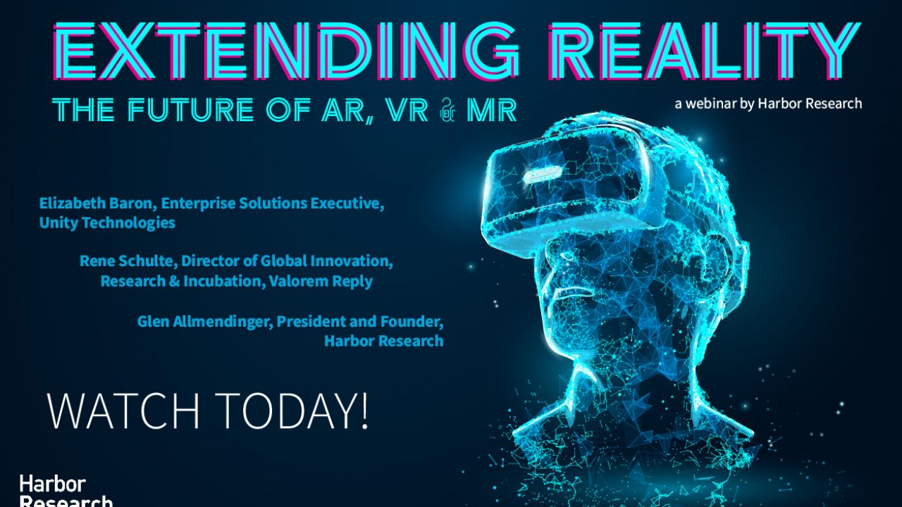Future Perfect Tech Webinar 2: Extending Reality – The Future of AR, VR & MR