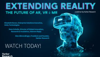 Future Perfect Tech Webinar 2: Extending Reality - The Future of AR, VR & MR promo image